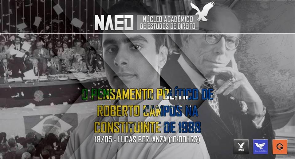 """Palestra """"Roberto Campos contra a Nova República"""" no IBMEC Barra"""